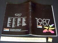 1987 Vintage Monogram USA Plastic Kit Catalogue - Cars Aeroplanes Ships etc