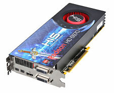 HIS AMD Radeon HD 6870 Fan 1GB GDDR5 HDMI 2x DP 2x DVI PCI-E Video Graphics Card