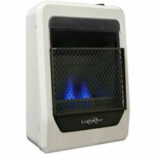 Lost River Natural Gas Ventless Blue Flame Gas Heater, Vent Free - 10,000 BTU