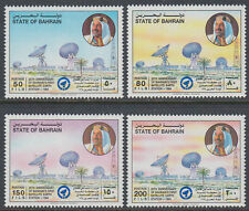 Bahrain 1994 ** Mi.551/54 Erdefunkstelle Satellite Earth Station