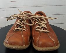 Born Womens Brown Bowling Style Casual Oxford Shoes  6.5