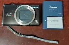 Canon PowerShot SX200 IS 12.1 MegaPixel Digital Camera with Battery and Charger