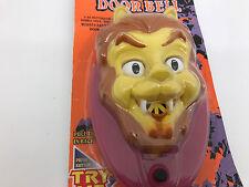 NEW 1994 Rubies Halloween DOOR KNOCKER MONSTER FACE sound Haunted Doorbell VTG