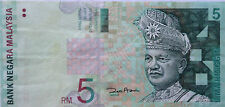 RM5 Zeti sign Paper Note BE 1286839
