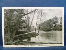 Postcard NY Poughkeepsie Vassar Lake at Vassar College