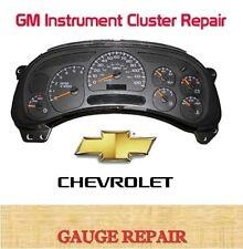03 2003 GM Chevrolet Tahoe Yukon Speedometer Instrument IPC Cluster Repair