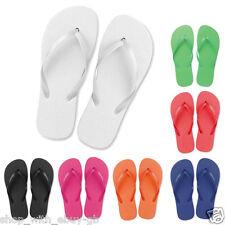 Sandali e scarpe infradito bianco Piatto (Meno di 1,3 cm) per il mare da donna