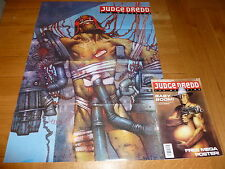 JUDGE DREDD THE MEGAZINE Comic - Series 1 - No 15 - Date 12/1991 (FREE Poster)