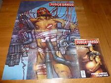 JUDGE DREDD THE MEGAZINE Comic - Series 1 - No 15 - Date 12/1991 (FREE Poster)