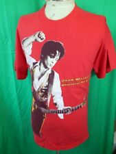 Vintage 1992 Red Cotton John Mellencamp Whenever We Wanted World Tour T-shirt L