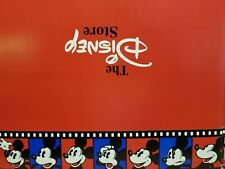 The Disney Store empty gift box Mickey Mouse Red