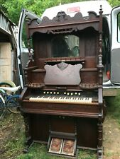 1800s Antique Victorian Cottage Pump Organ Good Condition Needs Work On Bellows