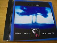 GILBERT O'SULLIVAN TOMORROW TODAY LIVE IN JAPAN 93 CD MINT-- RARISSIMO