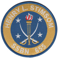US Navy USS Henry L Stimsom SSBN-655 Patch