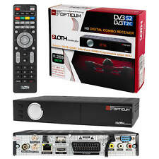 HDTV dvb-t2 dvb-s2 opticum Sloth combo plus sat cable terrestre receiver h265