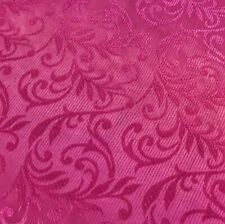 "New Designer Multicoloured Leafs Jacquard Brocade Fabric 59"" 150cm"