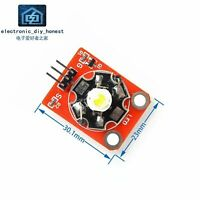3W High-Power LED Module with PCB Chassis STM32 AVR