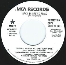 SISSY SPACEK Back In Babys Arms ((**NEW 45 DJ**)) from COAL MINERS DAUGHTER FILM