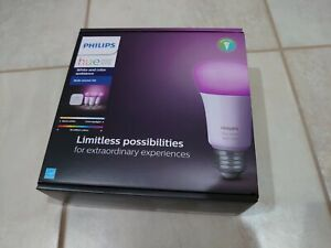 Philips Hue White and Color Ambiance Bulb Starter Kit 1455234