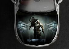 Resident Evil #1 Car Hood Wrap Full Color Vinyl Sticker Decal Fit Any Car