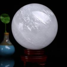 Natural Rainbow Clear Quartz Crystal Sphere Ball Healing GEMSTONE 40mm