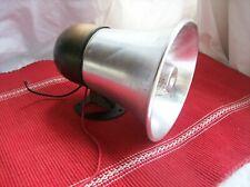 Electric Loud Speaker Vintage wall mounted untested metal cone