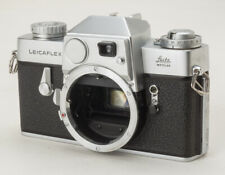 Beautiful 1967 LEICAFLEX (original model) chrome body METER WORKS w/CASE -EXC!