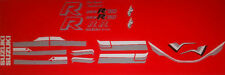 SUZUKI GSXR750F PAINTWORK RESTORATION DECAL SET 1985 RED/BLACK MODEL
