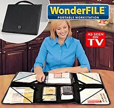 As Seen on TV - WONDERFILE PORTABLE WORKSTATION ORGANIZER Great for Paper Crafts