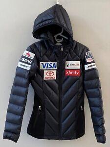 Spyder US Ski Team Down Jacket Women's M, Medium/Black Ski Coat - never worn