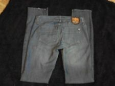 Freestyle Revolution Distressed Stretch Blue Jeans Size 5 (30x32)
