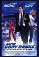 AGENT CODY BANKS Movie POSTER 27x40 Frankie Muniz Hilary Duff Angie Harmon Keith