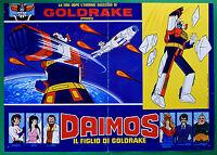 T24 Fotobusta Daimon Die Sohn Von Goldrake Mazinger Ugo Roboter Toei Animation