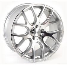 (READ LISTING) 1 - 19x8.5 BBS Style Euro Mesh Replica Wheels Silver