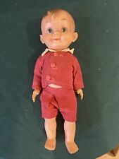 """Vintage 1950's Effanbee Mickey Boy Doll Wearing Original Outfit 10"""""""