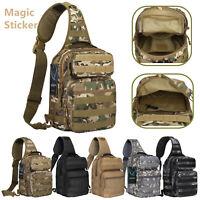Tactical Sling Bag Military Backpack Pack Rover Shoulder Molle Assault Range EDC