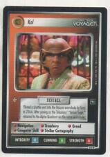 "Star Trek Voyager CCG Ferengi RARE Card No.141R ""Kol"""