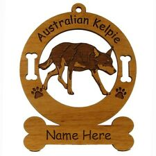 Australian Kelpie Dog Breed Ornament Personalized With Your Dogs Name 1375