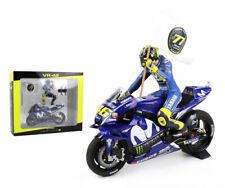 Minichamps Valentino Rossi Bici/estatuilla Yamaha Catalunya 2018-escala 1/12