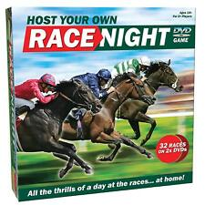 Host Your Own Race Night Bumper 32 Races out June 2018 Horse Racing DVD Game