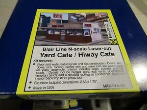 Blair Line N Scale Yard Cafe / Highway Cafe  Kit  #1006   Bob The Train Guy