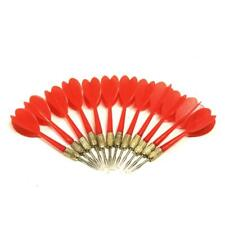 12 Pack Red Metal Tip Brass Balloon Darts