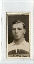 (Jc6589-100)  OGDENS,FAMOUS RUGBY PLAYERS,L.OSBORNE,HULL KINGSTON ROVER,1926,#41