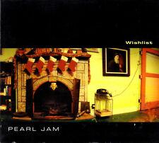 PEARL JAM wishlist +2 - CD SINGLE 1998 digipak 665790 2