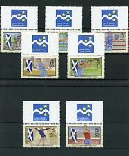 Cayman Islands 2014 MNH XX Commonwealth Games Glasgow 7v Set Boxing Swimming