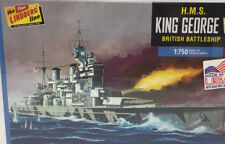 Lindberg HMS King George V British Battleship 1:750 Ship Model Kit HL477/12 K-76