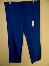 New listing Nwt Dickies Adult Unisex Work Pants Scrubs blue w/drawstring size M Petite