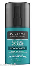 John Frieda LUXURIOUS VOLUME Root Booster Blow Dry Lotion Hair Spray 125ml