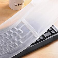 New Universal Silicone Desktop Keyboard Cover Computer Skin Protector Film 1PC