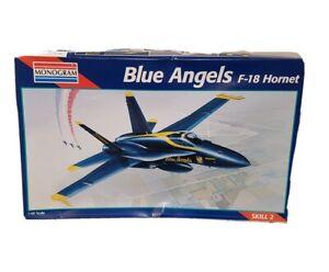 Monogram Blue Angels F-18 Hornet Vintage 1995 Model Kit